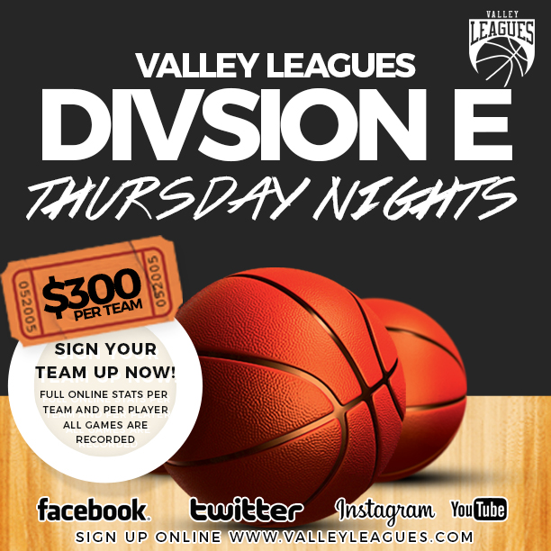 Valley Leagues Summer 2018 Division E IG